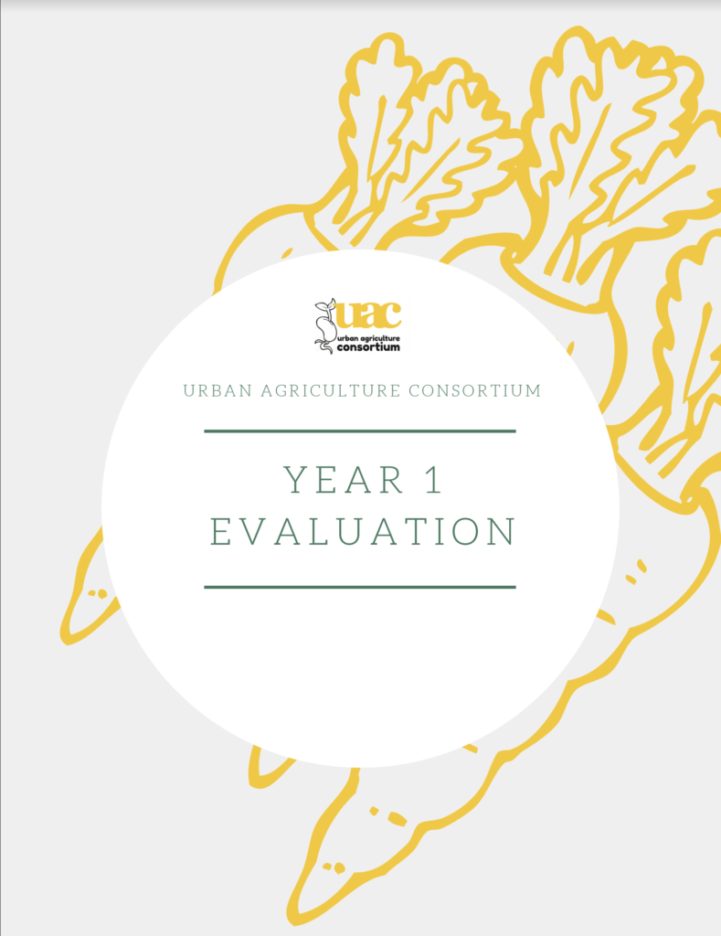 Evaluation of first year cover